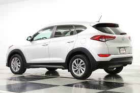 Used 2016 Hyundai Tucson SE Camera Bluetooth Chromium Silver SUV For ...