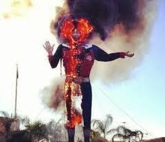 Big Tex On Fire 2012 A Sad Day In Dallas For All Texans The Made National News Feed I Was California When Saw Report Of