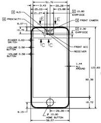 Iphone 5 drawing dimensions Other 3D CAD model GrabCAD