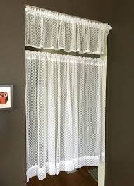 Cafe Style Curtains Walmart by Sheer White Curtains Amazon Sheer White Curtains Sheer White