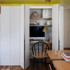 bureau dans un placard amenagement placard bureau amenagement bureau ikea creteil porte