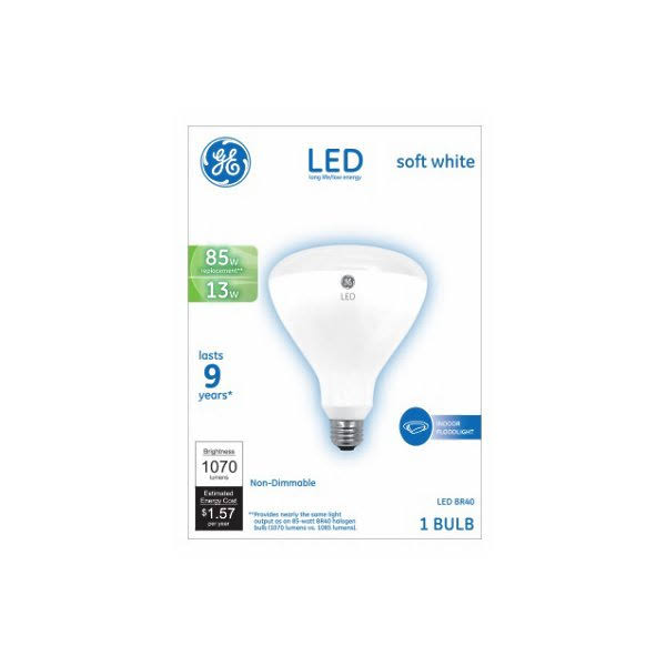 Ge Lighting Led Light Bulb - Soft White, 85W