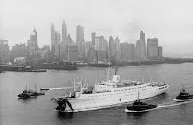 Cruise Ship Sinking Italy by The Sinking Of Andrea Doria History In The Headlines