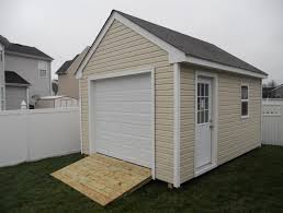 10x12 Shed Material List by Shed Plans With Garage Door