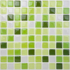 Smart Tiles Mosaik Multi by Amazon Com Tic Tac Tile High Quality Peel And Stick Wall Tile