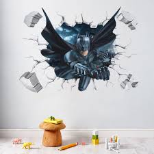 Superhero Wall Decor Stickers by Online Get Cheap Decoration Batman Aliexpress Com Alibaba Group