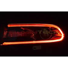dodge charger v 3 fusion color change led drl headlight kit 2015