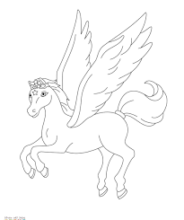 Baby Unicorn Styles And Pegasus Coloring Pages Online Cute Beyblade Galaxy Pony Metal Fury 11