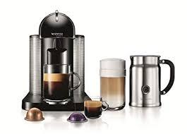 Nespresso VertuoLine Coffee And Espresso Maker With Aeroccino Plus Milk Frother Black Discontinued Model