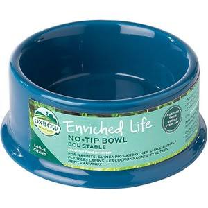 Oxbow Enriched Life No-Tip Small Animal Bowl, Large
