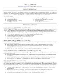Administrative Assis Best Assistant Resume