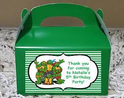 Ninja Turtle Decorations Nz by Ninja Turtles Party Etsy