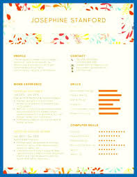 Resume Template Colorful Customize Templates Online Canva