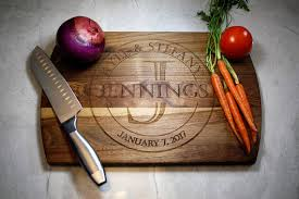 Personalized Cutting Board Wedding Gift Engagement Gifts