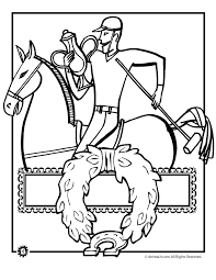 Derby Hat Coloring Pages