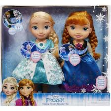 Princess Kitchen Play Set Walmart by Disney Frozen Singing Sisters Elsa And Anna Dolls Exclusive
