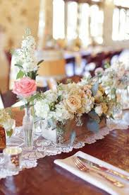 Lace Ribbon Rustic Wooden Vases And Driftood Are Popular DIY