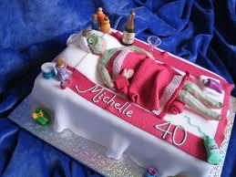 Spa Birthday Party Cake Ideas
