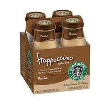 STARBUCKS FRAPPUCCINO COFFEE MOCHA 4 PK 95 OZ BOTTLES