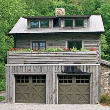 A Rustic Home Calls For Garage Doors That Fit The Part Decorative Cross Buck Panels