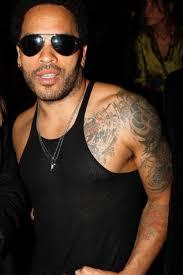 Lenny Kravitz Sleeve Tattoo