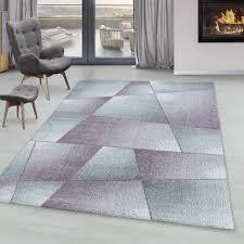 kurzflor teppich design abstrakt geometrisch