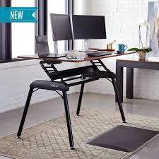 Varidesk Standing Desk Floor Mat by Varidesk Pro Desk Series Overview Notsitting Com