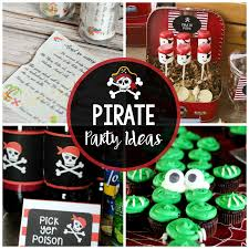 Pirate Party IdeasInvitations Food Games And More