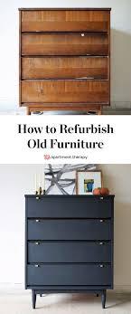 How To Refurbish Furniture Damaged Dresser Gets a Makeover