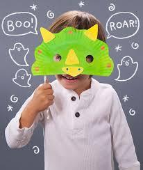DIY Halloween Masks Preschool Dinosaur CraftsDinosaur Party ActivitiesDinosaur Art
