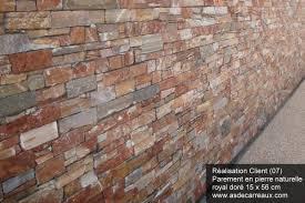 parement mural naturelle agréable mur en ardoise exterieur 0 parement ext233rieur