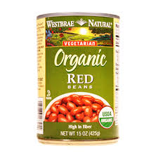 Product Large Westbrae Red Beans 320