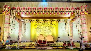 Marvellous South Indian Wedding Flower Decorations 59 About Remodel Reception Table With