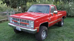 1987 Chevrolet K10 4×4 Pickup Truck For Sale