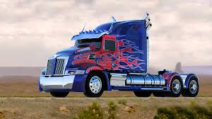 ArtStation - Transformers Optimus Prime Western Star 5700 OP Truck ...