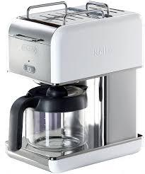 DeLonghi KMix 10 Cup Drip Coffee Maker White