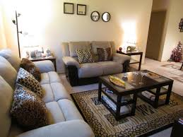 Mediterranean Living Room Interior Design Navy Blue Decor Cheetah Print