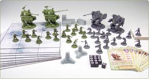 Dust Tactics Is A 28mm Wargame That Attempts To Bridge The Gap Between Boardgames And Miniature Games Some People Claim Its One Or Other But Really It