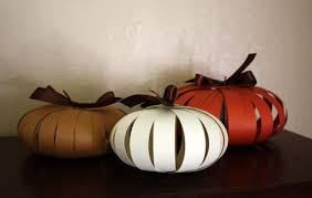 DIY Paper Pumpkins To Become Cool Autumn Decorations