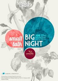 Small Talk Big Night Poster