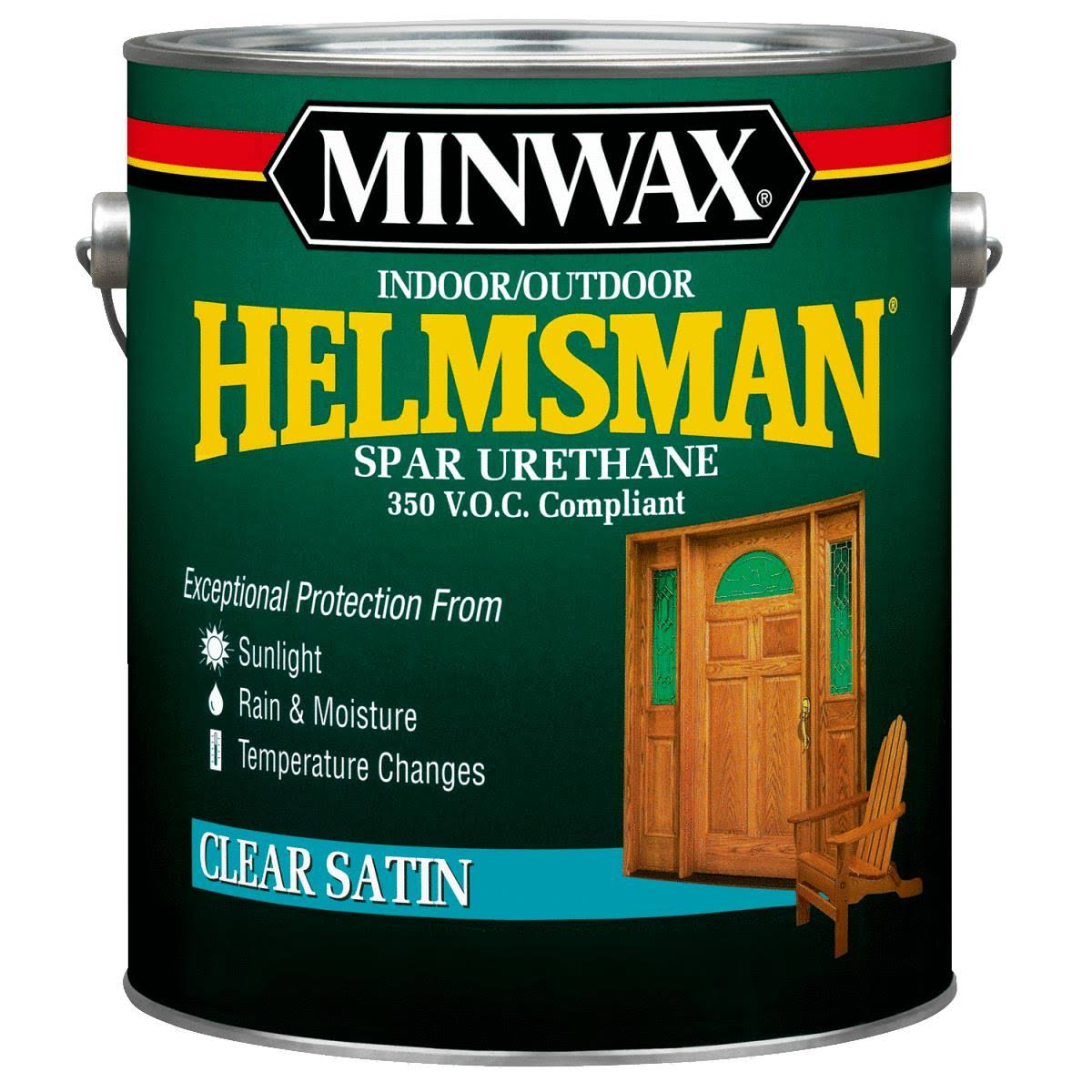 Minwax Helmsman VOC Spar Interior and Exterior Varnish - 1 Gallon