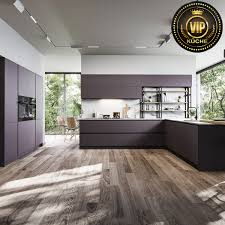 moderne einbauküche modo loft wohnküche offene küche mit theke anthrazit