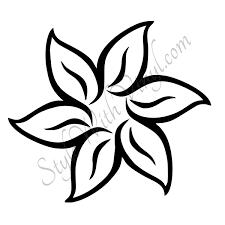 Draw Easy Flower Drawings
