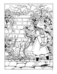 Full Image For Secret Garden Colouring Pages Adults Coloring Completed Welcome To