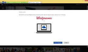 Microsoft today debuted new functionality that allows eDrive users to have their digital photos printed at Walgreens