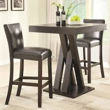 Walmart Round Kitchen Table Sets by Bar Stools Round Pub Table Sets 3 Pc Indoor Bistro Set Indoor