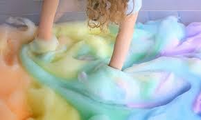 Bathtub Fingerpaint Soap Recipe by Rainbow Soap Foam Bubbles Sensory Play