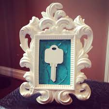 Framed House Key My Favorite Closing Gift For First Time Home Buyers
