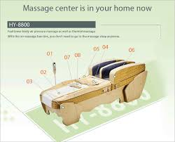 hy 8800 featutr thermal massage bed migun medical instrument
