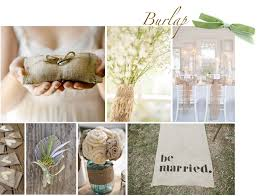 Burlap Is The Perfect Addition To Any Rustic Barn Wedding